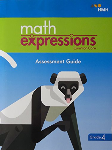 math expressions 2018 Assessment Guide Grade 4