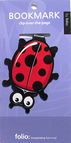 Ladybug Bookmarks (Clip-over-the-page) Set of 2 -