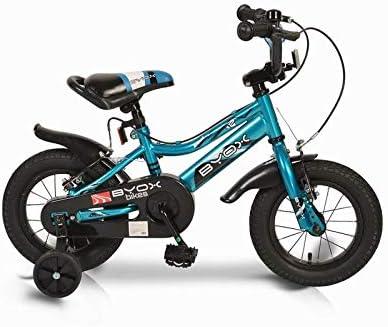 Byox Bicicleta para niños de 12 Pulgadas Azul príncipe, Ruedas de ...