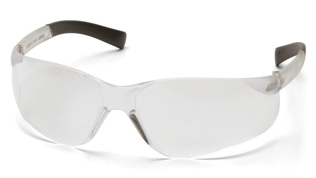 Pyramex Mini Ztek Glasses Clear Frame//Clear Lens by Pyramex 12 Pair S2510SN