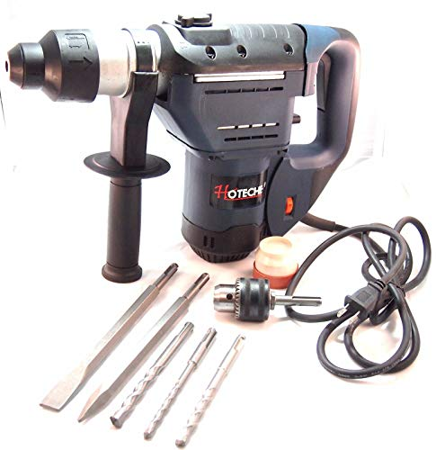 Extra Drill Chuck 1/2'' 3-Function SDS Plus Rotary Hammer Ideal for Demolition/Concrete Jobsite 1/2' Sds Plus Hammer