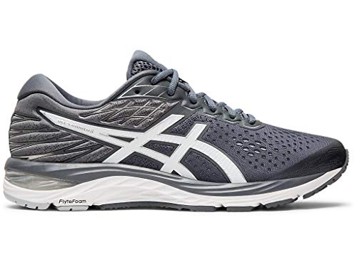 ASICS Men's Gel-Cumulus 21 Running Shoes, 10.5W, Metropolis/White