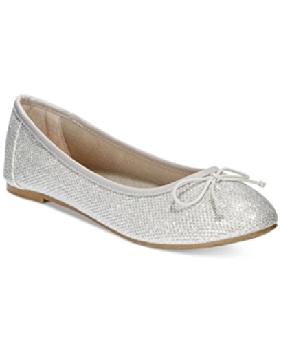 Report Marlee Sparkle Ballet Flats Womens Shoes Silver 6.5 M US h1bj2Mdh