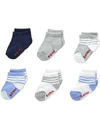 Boys' Toddler Crew Non-Skid Socks