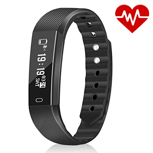 Astonlink Fitness Tracker, Activity Tracker Watch with Heart Rate Monitor, Sleep Monitor Step Counter Calorie Counter Message Notification IP67 Waterproof Pedometer Watch for Kids, Men and - Rate Digital Monitor Heart