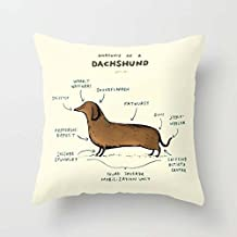 The Dogs Cushion Cases Of 18 X 18 Inches / 45 By 45 Cm Decoration Gift For Home Family Gf Kids Room Home Office Valentine (double Sides)
