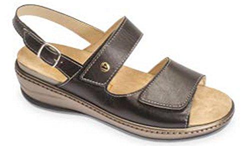 VALLEVERDE - Sandalias de vestir para mujer negro