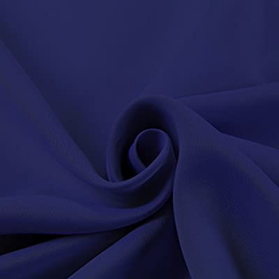 """NICETOWN 1 Panel Grommet Top Blackout Curtain for Bedroom, Living Room, Patio Door (52"""" Wide and 100"""" Wide)"""