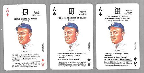 1991-us-game-systems-baseball-legends-playing-3-cards-detroit-tigers