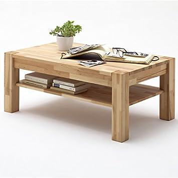 Couchtisch PETER Kernbuche Massivholz Beistelltisch Tisch Wohnzimmertisch
