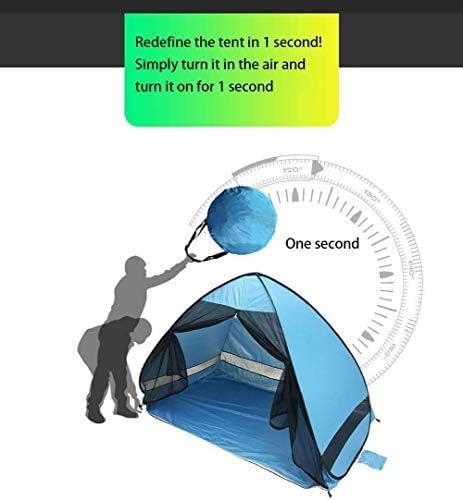 ZEH Automatische Pop-Up-Strand-Zelt, Angeln beweglicher Sport-Shelter Sun Shelter Sofortiger Anti UV Canopy Sonnenschutz for Familien-Kind-Baby im Freien Camping FACAI