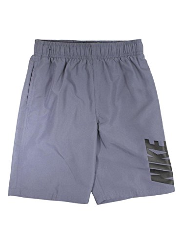 NIKE Big Boy's Light Carbon 8-Inch Volley Shorts Trunks Swimwear Sz: - Swim Trunks Nike Boys
