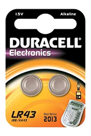 Duracell lr43 15v batteries pack of 2 batteries amazon duracell lr43 15v batteries pack of 2 batteries fandeluxe Choice Image