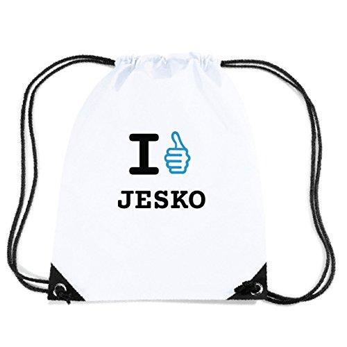 JOllify JESKO Turnbeutel Tasche GYM5485 Design: I like - Ich mag hNrAas