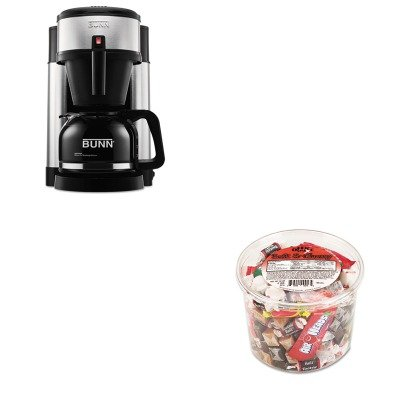 KITBUNNHSOFX00013 - Value Kit - Bunn Coffee 10-Cup Professional Home Coffee Brewer (BUNNHS) and Office Snax Soft amp;amp; Chewy Mix (OFX00013) by Unknown