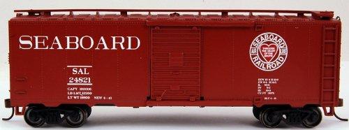 40' Metal (Bachmann Trains Seaboard (Through the Heart of Dixie) 40' Box Car)