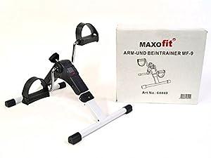 MAXOfit® Pedaltrainer MF-9, Bewegungstrainer klappbar mit Zählwerk, geeignet...