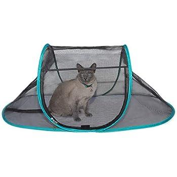 Amazon Com Kittywalk Kabana Outdoor Enclosure For Cats