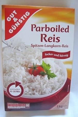 Gut Gunstig Parboiled Reis Spitzen Langkorn Reis Amazon De Kuche