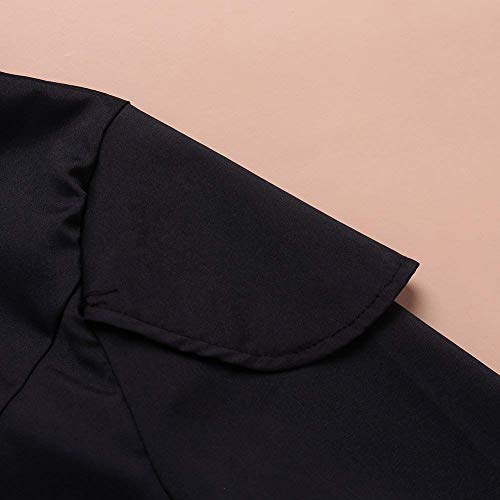 Single Puro Donna Giacca Vento Mantello Colore Invernali Manica Breasted Di Trench Cappuccio Lunga Con Giovane Outwear Moda Laterali Tasche Schwarz 4zwqdpX