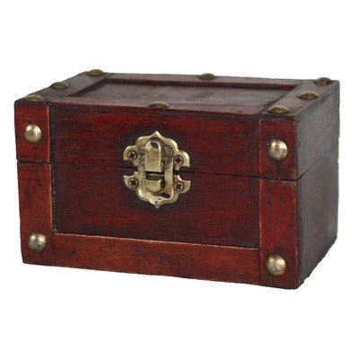 Quickway Imports Mini Treasure Chest, Small by Quickway Imports Inc