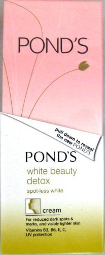 Detox Spot-Less White Cream (40g) by Pond's (Ponds White Beauty Detox)