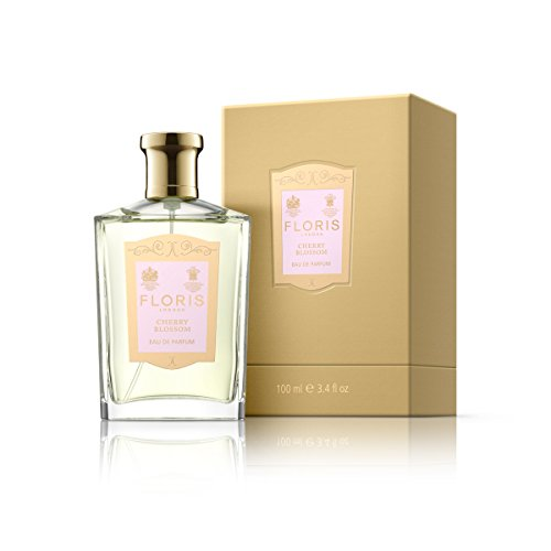 Floris London Cherry Blossom Eau de Parfum Spray, 3.4 Fl Oz