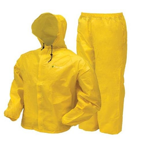 Frogg Toggs Youth Ultra-Lite2 Suit, Large, Bright Yellow