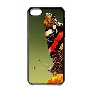 XiFu*Meiiphone 5/5s Case, Cheap Butterfly Closeup Case for iphone 5/5sXiFu*Mei