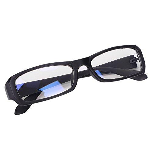 Carré Lumière Bleu Léger Maquillage Oculaire Cadre Unisexe Lecture Lunette Protection Large De Portable Elève Pour Verre Anti Monture Noir Synthétique Transparent À Ordinateur Adulte Zq8v6