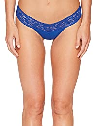 Womens Petite Cotton Low Rise Thong