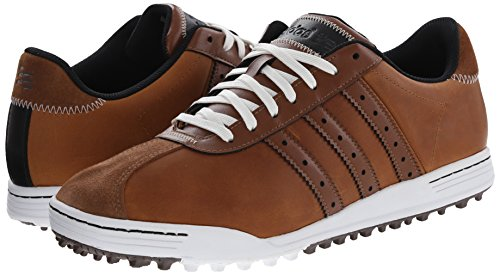 a3b1bcd1af9c adidas Golf Men s adiCross Classic Tan Brown Tan Brown White 9.5 M