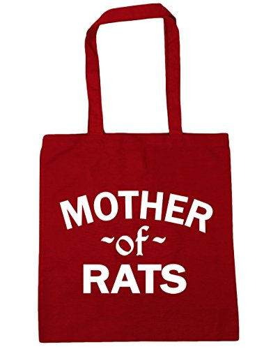 Shopping Bag litres Beach Mother Classic Of 42cm HippoWarehouse 10 Rats x38cm Red Gym Tote 0IYBx