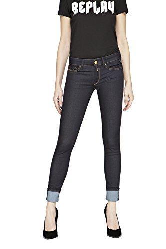 Replay Women's Luz Jeans Blue (Dark Blue 7)