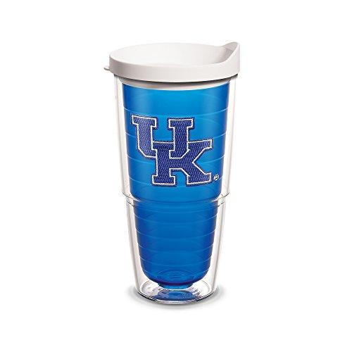 Kentucky Sapphire (Tervis Kentucky Univ Emblem Sapphire Inner 24oz Tumbler with White Lid, Blue)