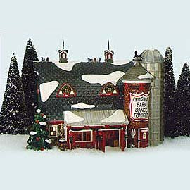 Dept. 56 Original Snow Village Christmas Barn -