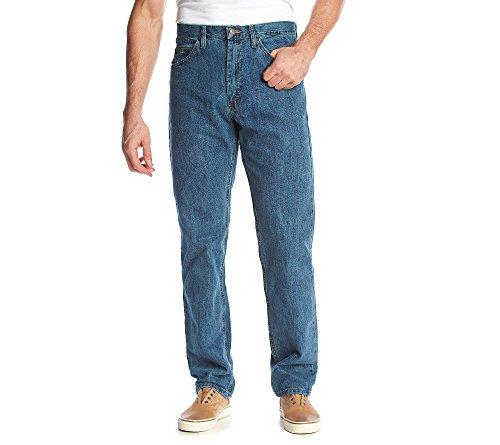 LEE Men's Regular Fit Straight Leg Jean, Wylie, 35W x 32L