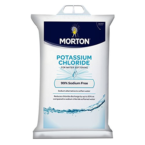 Morton Potassium Chloride Pellets - 40 lb. bag (Natures Own Water Softener Crystals 40 Lbs)