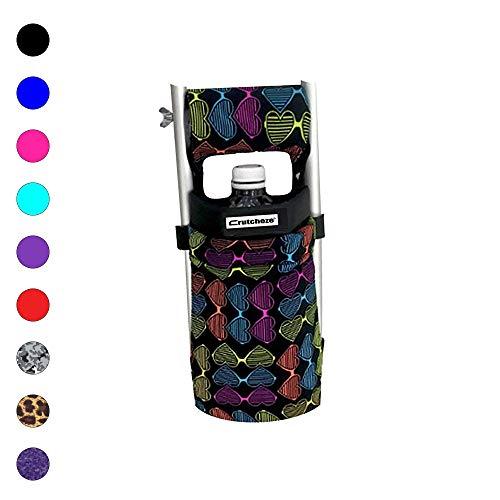 Crutcheze USA Made Premium Crutch Bag, Pouch, Pocket, Tote Washable Designer Fashion Orthopedic Products Accessories (Love It)