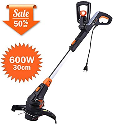 good service casual shoes new appearance TACKLIFE Electric Grass Trimmer, 600W, 30cm Cutting Diameter String  Trimmer, Automatic Double Line Feed, Adjustable Handle, Plant Guard, GGT1A
