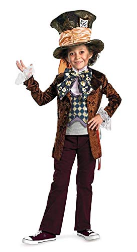 Disguise Costumes Mad Hatter Movie Deluxe Costume (Boys), Large (10-12 Months) ()