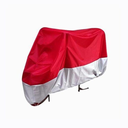 Honda Silver Wing 600 (Red Silver Motorcycle Cover For Honda FSC600 FSC 600 Silver Wing Silverwing UV Dust Protector L)