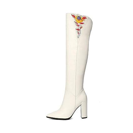 11644d25ce2da Amazon.com: YaXuan Women's Boots, Fall Winter Over-Knee Boots, 2019 ...