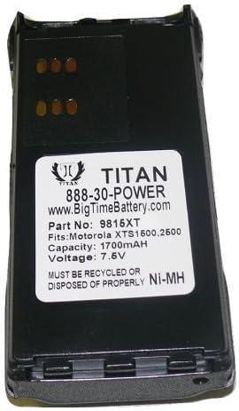 s 7.5V NTN9815AR NTN9858C Battery for MOTOROLA XTS1500 XTS2500 Two-Way Radio