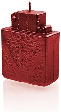 Candellana Candles Candellana-Wolf Candle Red