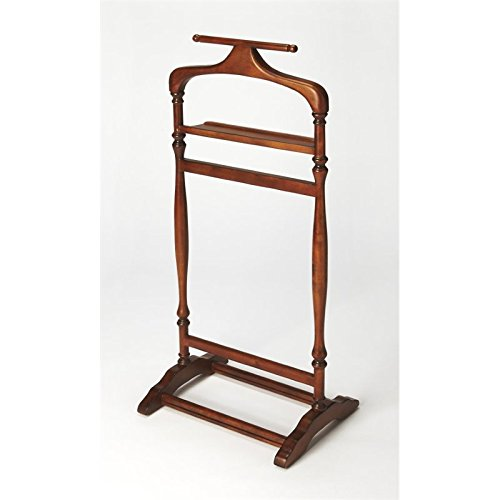 Beaumont Lane Valet Stand in Olive Ash Burl