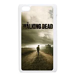 Custom Colorful Case for Ipod Touch 4, The Walking Dead Cover Case - HL-542553