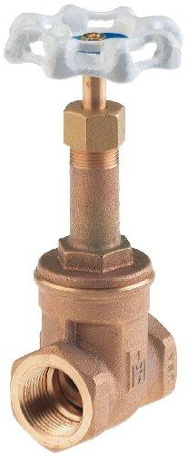 - Milwaukee Valve UP148 Series Bronze Gate Valve, Potable Water Service, Rising Stem, 1/2