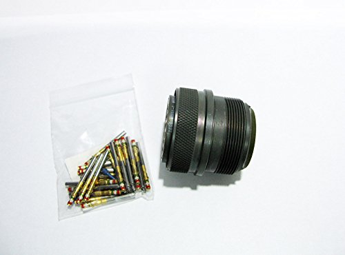 J-Tech MS3406D28-12SW flight Circular MIL Spec Connector Plug 26 Position by J-Tech