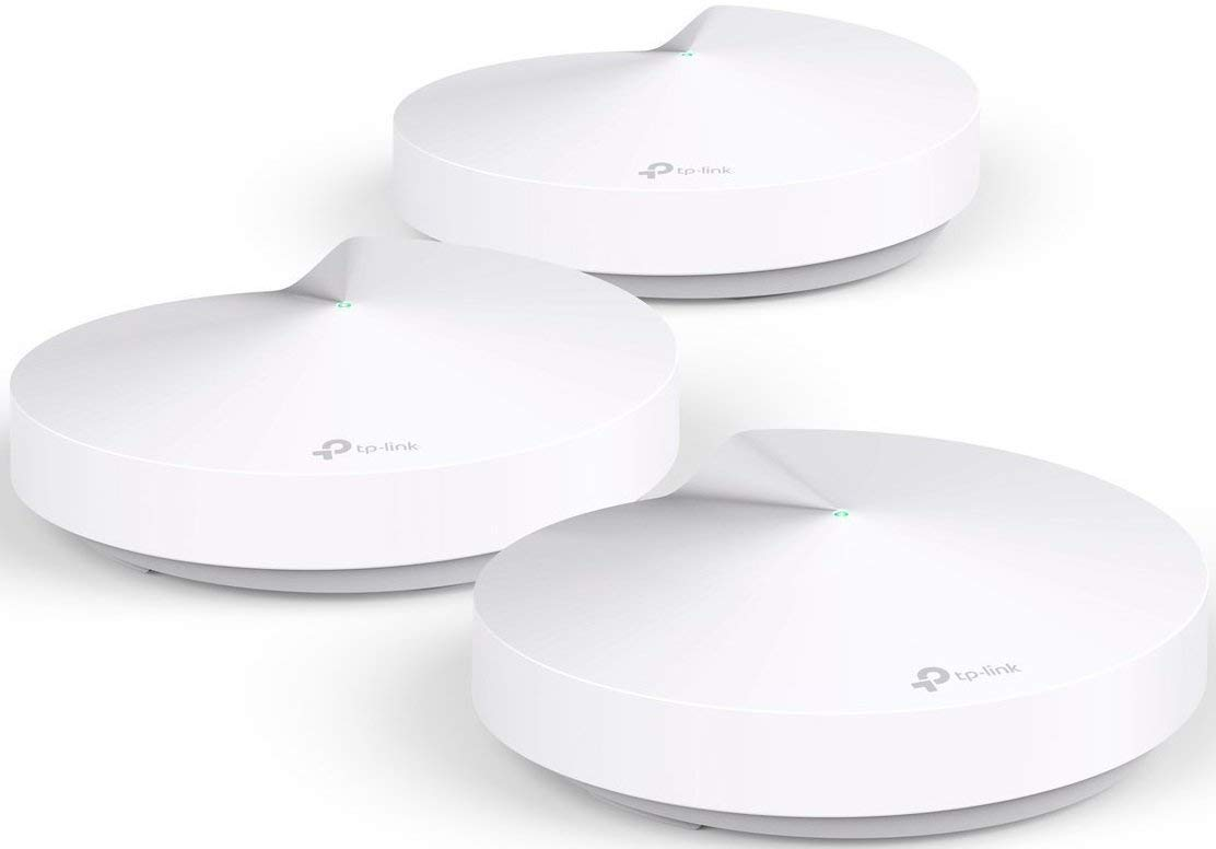 TP-Link Deco Whole Home Mesh WiFi System - Homecare Support, Seamless Roaming, Dynamic Backhaul, Adaptive Routing, Works with Amazon Alexa, Up to 5,500 sq. ft. Coverage (M5) by TP-LINK